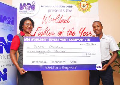 Worldnet Firefighter of the year 2015 awardee