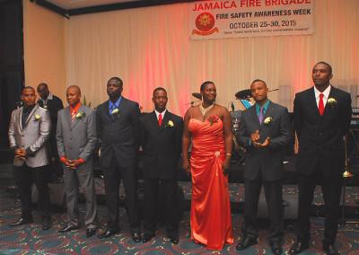 Worldnet Firefighter of the year 2015 award ceremony