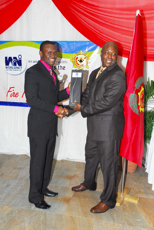 Award being distributed at the seminar