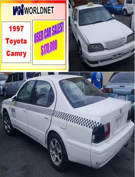 1997 Toyota Camry - White