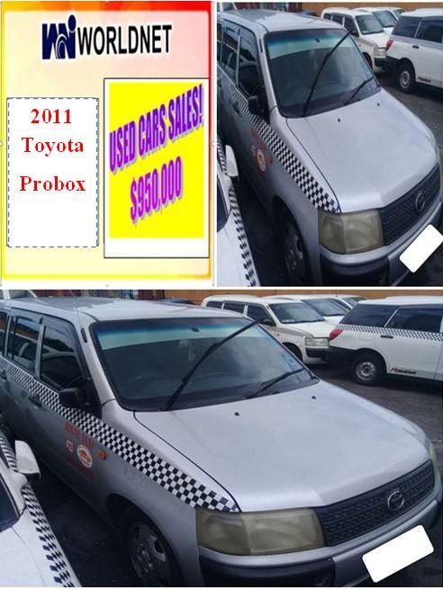 2011 Toyota Probox - Sliver